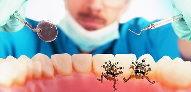 口内細菌による影響