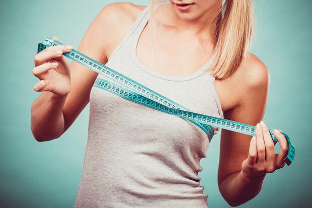 胸を太りたい女性は、脂肪をつけることが必要!