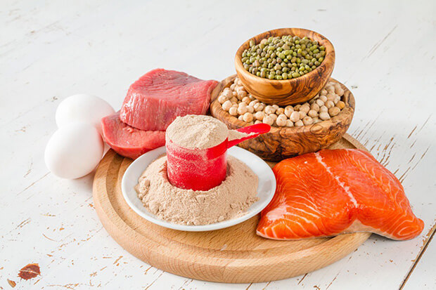 筋肉を付けるために必要な栄養