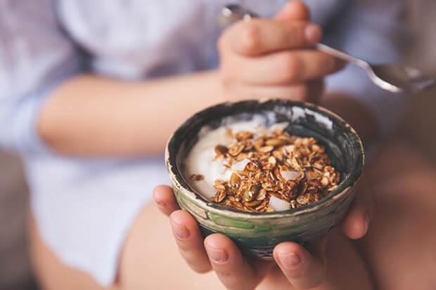 間食でカロリーを増やす