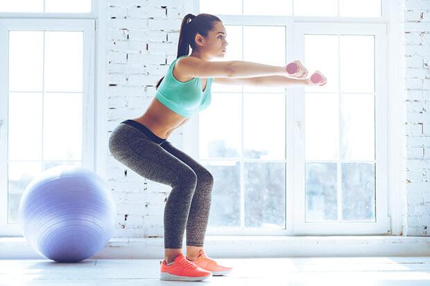 「無酸素運動」で筋肉を付ける