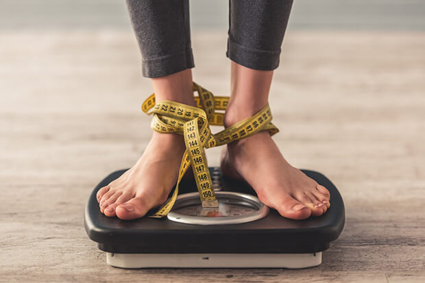 太れない女性の悩み