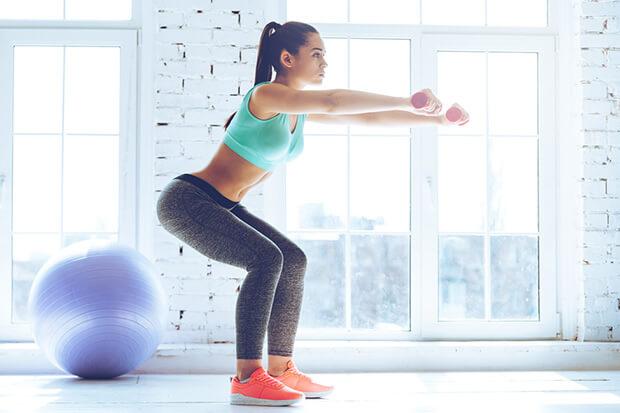 運動で健康的なボディを作る