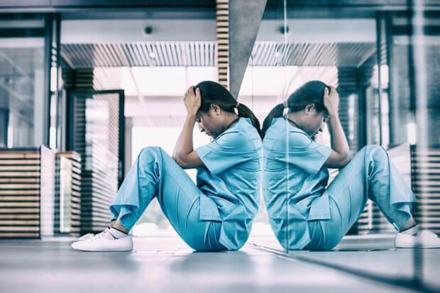 ストレスによる体重減少が招く病気
